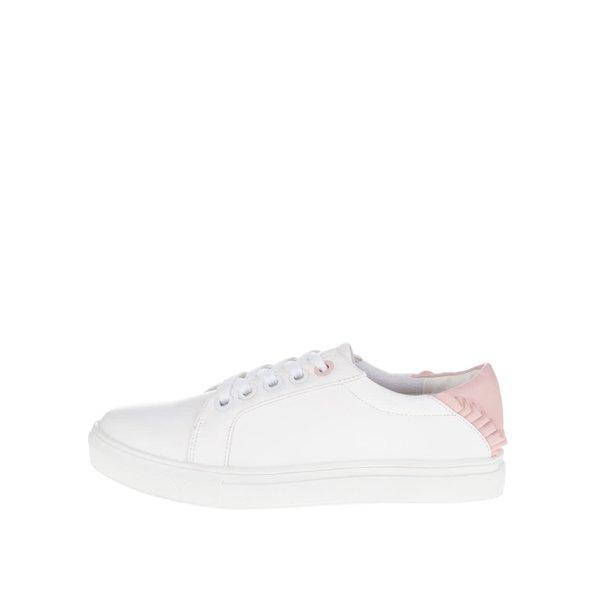 Pantofi sport albi cu detalii roz Dorothy Perkins de la Dorothy Perkins in categoria pantofi sport și teniși