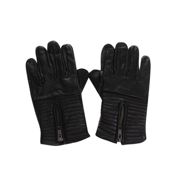 Mănuși negre Shine Original din piele