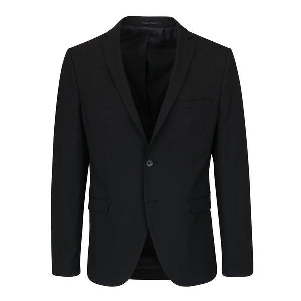 Sacou negru Selected Homme Newone de la Selected Homme in categoria Geci, paltoane, jachete