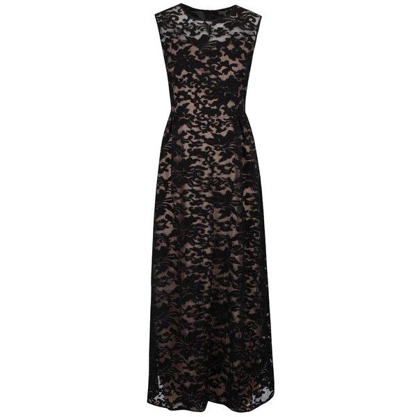 Rochie neagră Mela London din dantelă de la Mela London in categoria rochii de seară