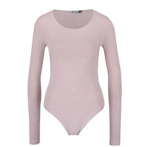 Body roz deschis cu mâneci lungi ZOOT de la ZOOT in categoria Topuri, tricouri, body-uri