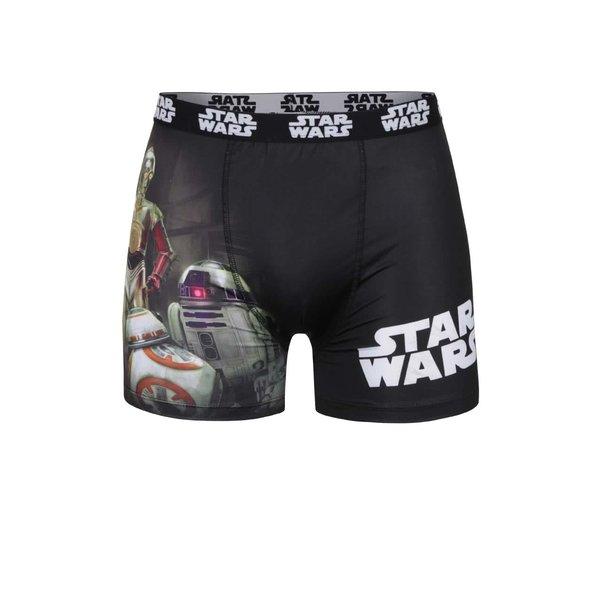 Boxeri negri cu imprimeu - Star Wars