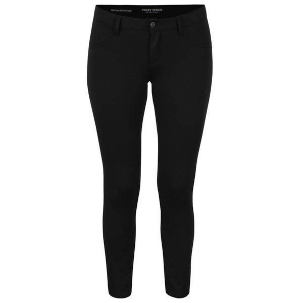 Pantaloni elastici negri TALLY WEiJL