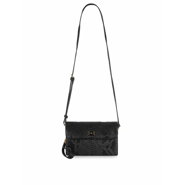 Geantă crossbody neagră cu model șarpe Paul's Boutique Veronica de la Paul's Boutique in categoria genți mici