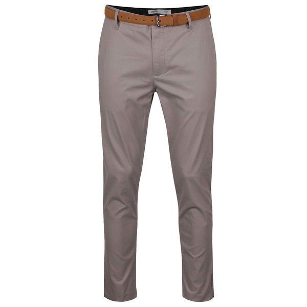 Pantaloni chino slim gri Burton Menswear London de la Burton Menswear London in categoria Blugi, pantaloni, pantaloni scurți