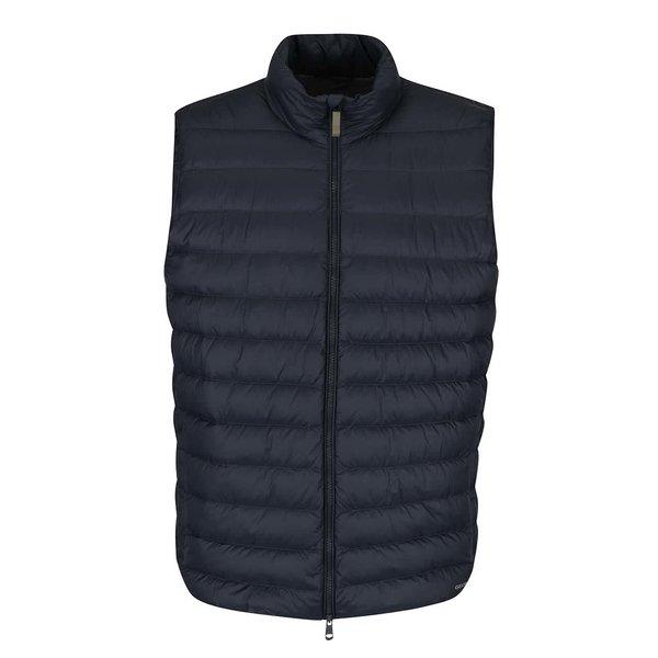 Vestă bleumarin matlasată impermeabilă Geox Down de la Geox in categoria Geci, paltoane, jachete