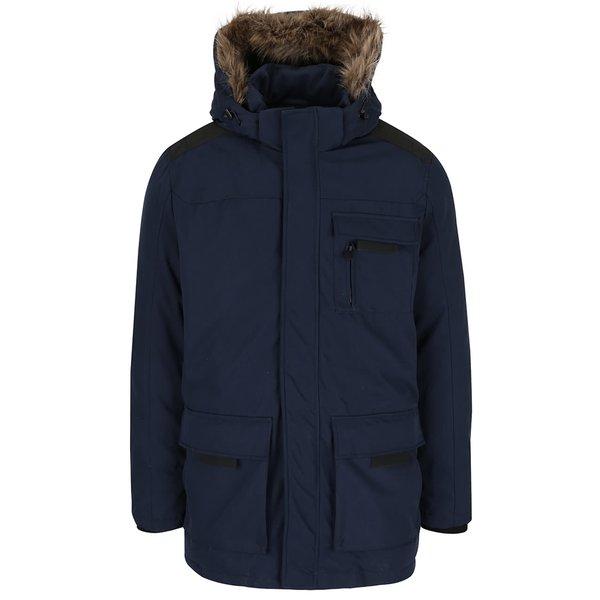Jachetă albastru închis Jack & Jones Follow cu glugă de la Jack & Jones in categoria Geci, paltoane, jachete
