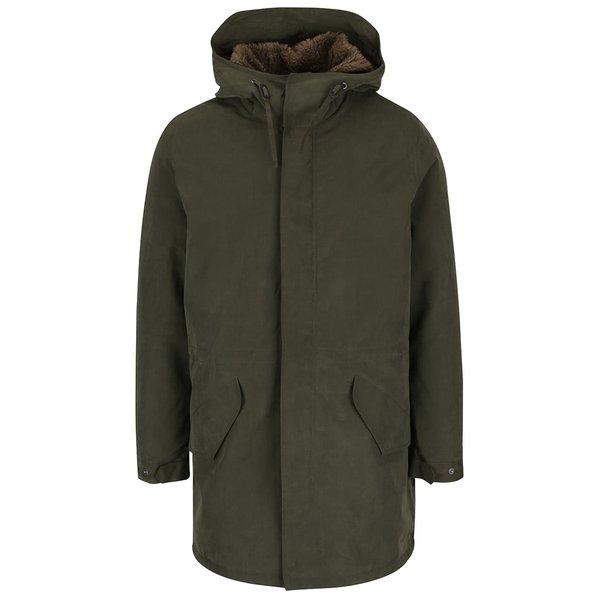 Jachetă parka verde oliv Jack & Jones Alexander cu glugă de la Jack & Jones in categoria Geci, paltoane, jachete