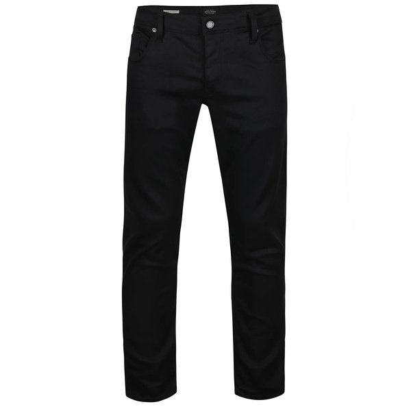 Jeanși negri slim fit Jack & Jones Glenn de la Jack & Jones in categoria Blugi, pantaloni, pantaloni scurți