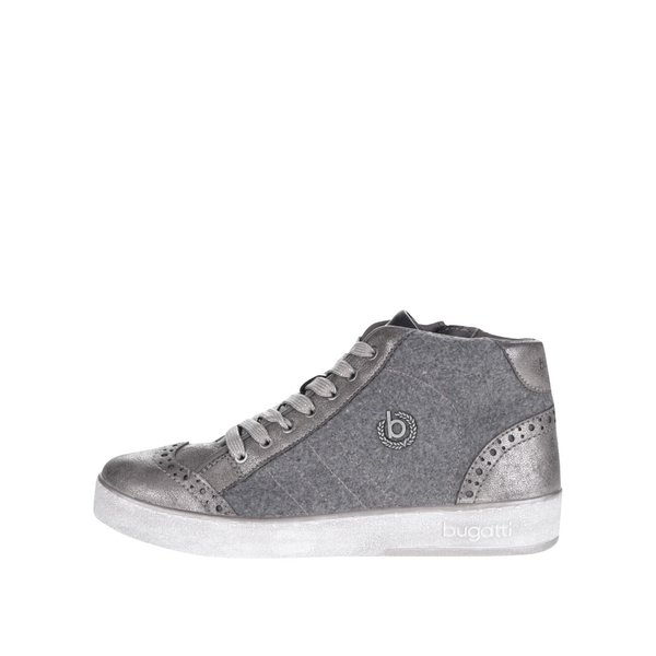 Pantofi sport înalți gri bugatii Fergie de damă de la bugatti in categoria pantofi sport și teniși