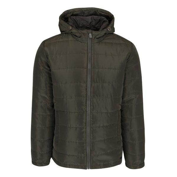 Jachetă matlasată kaki ONLY & SONS Jonnie