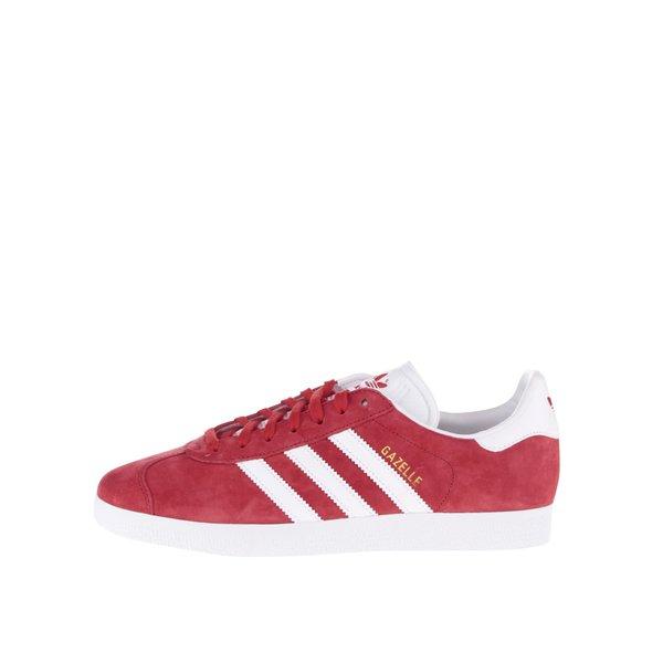 Pantofi sport roșii unisex adidas Originals Gazelle de la adidas Originals in categoria pantofi sport și teniși