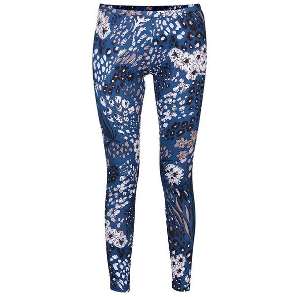 Colanți albaștri adidas Originals cu imprimeu floral de la adidas Originals in categoria Blugi, pantaloni, colanți