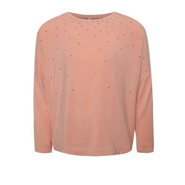 Bluză roz prăfuit name it Kaitlyn cu aplicații de la name it in categoria Tricouri, camasi