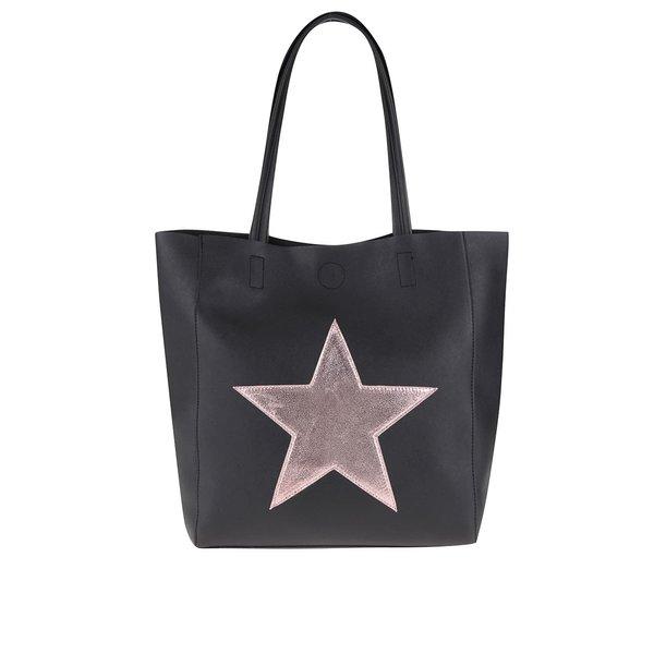 Geantă shopper neagră Haily´s Stellina de la Haily´s in categoria genți mari