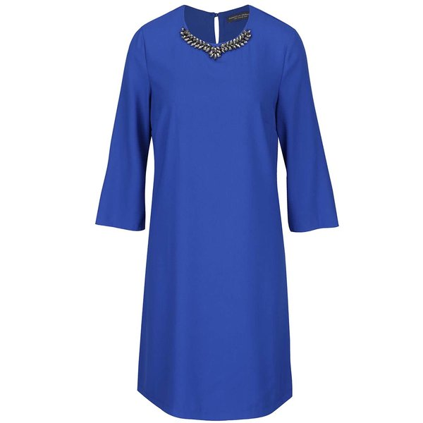 Rochie albastră cu detaliu metalic Dorothy Perkins de la Dorothy Perkins in categoria rochii de seară