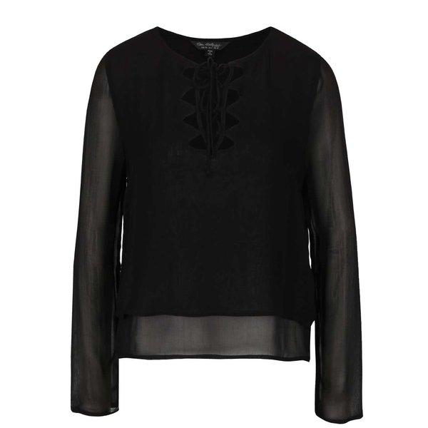 Bluză neagră Miss Selfridge