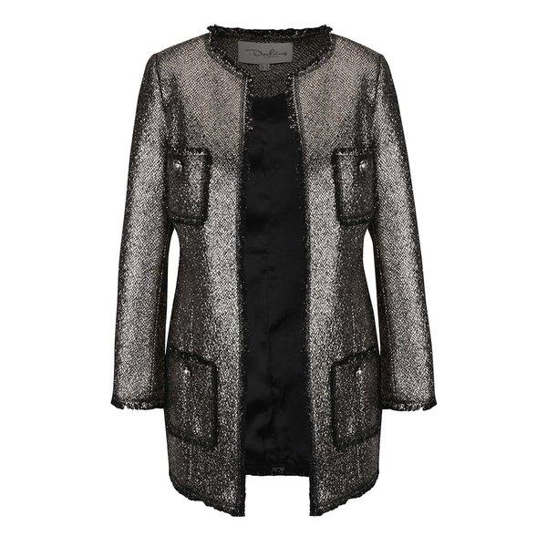 Jachetă argintie cu buzunare Darling Dulcie