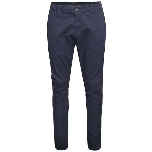 Pantaloni chino bleumarin !Solid Joy Crisp