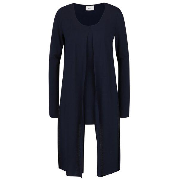 Bluză asimetrică albastră Mama.licious Wraping cu aplicații din material de la Mama.licious in categoria FEMEI