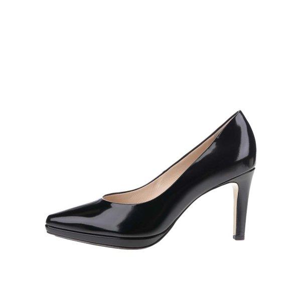 Pantofi negri Högl din piele de la Högl in categoria pantofi cu toc