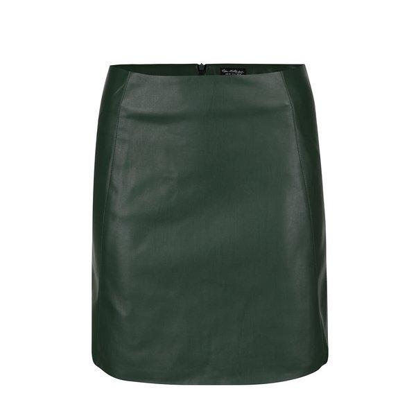 Fustă verde închis din imitație de piele Miss Selfridge de la Miss Selfridge in categoria Fuste