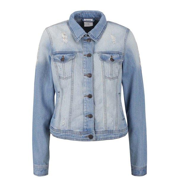 Jachetă albastră VERO MODA Danger din denim de la VERO MODA in categoria Geci, jachete și sacouri