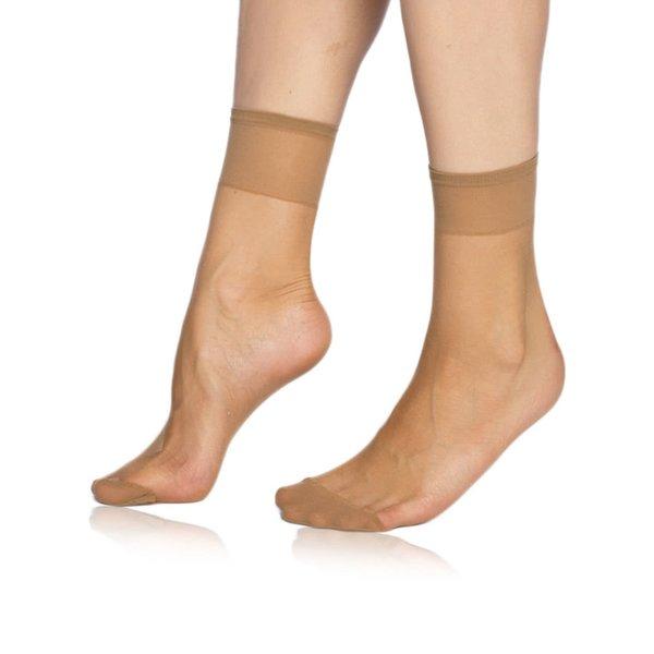 Ciorapi bej Bellinda Fly 15 DEN