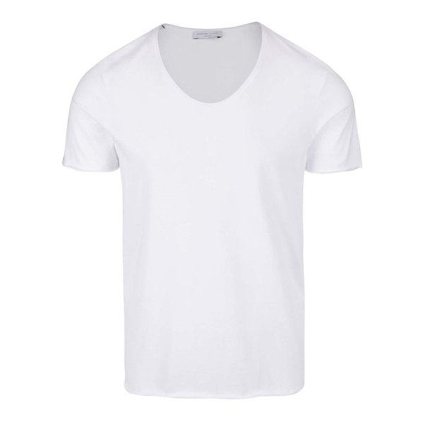 Tricou basic alb din bumbac - Selected Homme Merce
