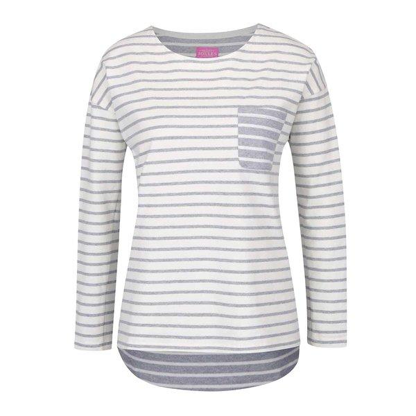 Bluză crem cu gri melanj în dungi Tom Joule Bay de damă de la Tom Joule in categoria bluze