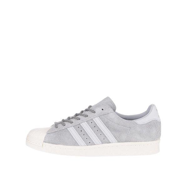 Pantofi sport adidas Originals Superstar 80s gri de la adidas Originals in categoria pantofi sport și teniși