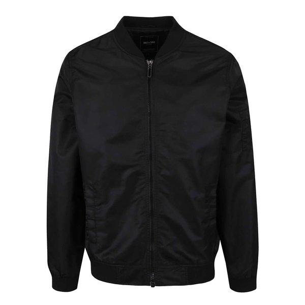 Jachetă bomber neagră ONLY & SONS Nabas de la ONLY & SONS in categoria Geci, paltoane, jachete