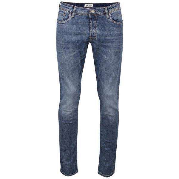 Blugi albastru deschis Jack & Jones Glenn cu aspect prespălat de la Jack & Jones in categoria Blugi, pantaloni, pantaloni scurți