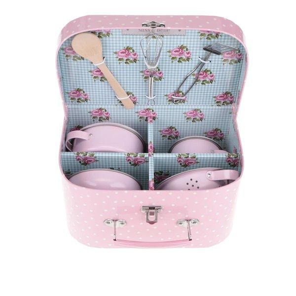 Set bucătărie roz Sass & Belle pentru copii