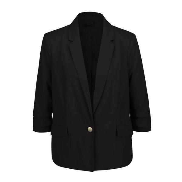 Sacou negru cu mâneci 3/4 VERO MODA Milla de la VERO MODA in categoria Geci, jachete și sacouri