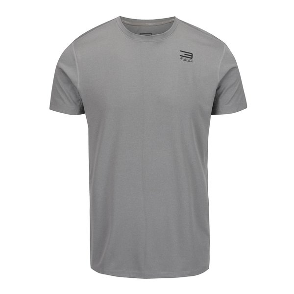 Tricou gri deschis Jack & Jones Basic pentru sport de la Jack & Jones in categoria tricouri