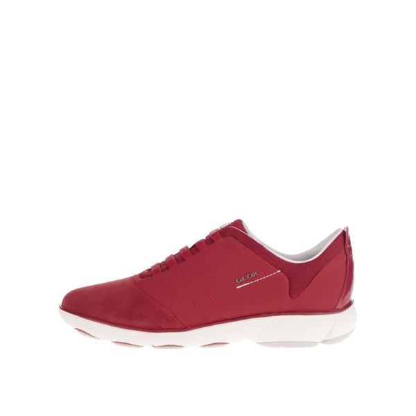 Pantofi sport roșii Geox Nebula G cu detalii de la Geox in categoria pantofi sport și teniși