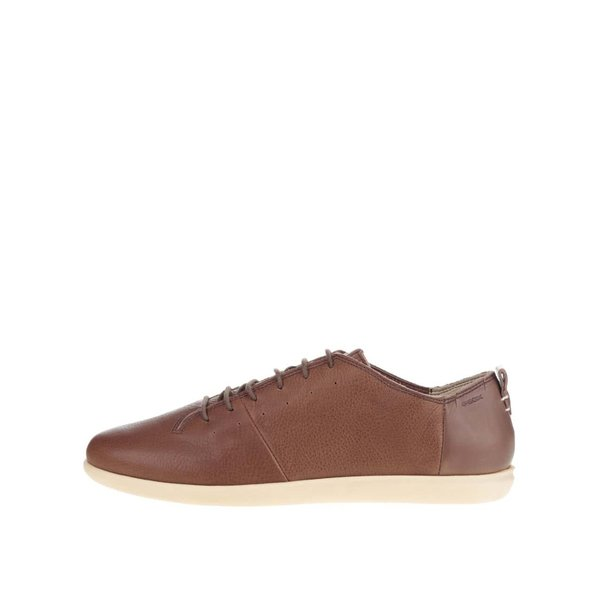 Pantofi sport maro Geox New Do B din piele pentru bărbați de la Geox in categoria pantofi sport și teniși