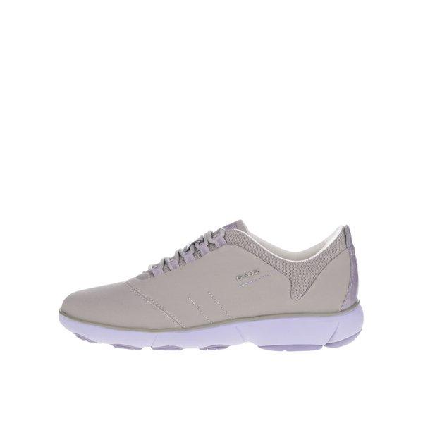 Pantofi sport violet & gri Geox Nebula de la Geox in categoria pantofi sport și teniși