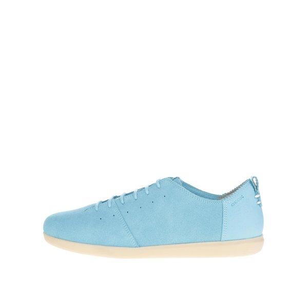 Pantofi sport turcoaz din piele întoarsă pentru femei Geox New Do C