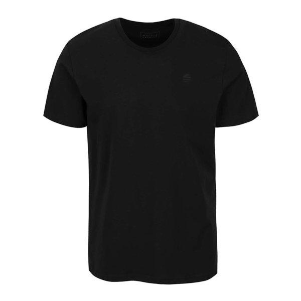 Tricou negru Perry Ellis Tour cu logo de la Perry Ellis in categoria tricouri
