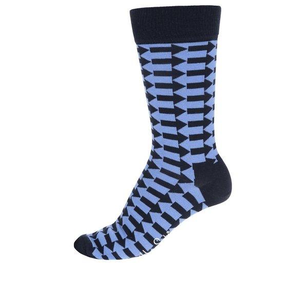 Șosete albastre Happy Socks Direction de la Happy Socks in categoria BĂRBAȚI