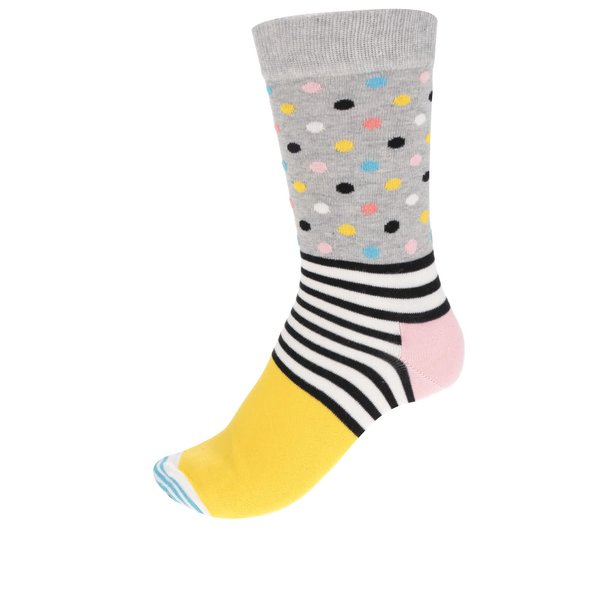 Șosete multicolore cu model Happy Socks Stripes Dot de la Happy Socks in categoria Dresuri si șosete