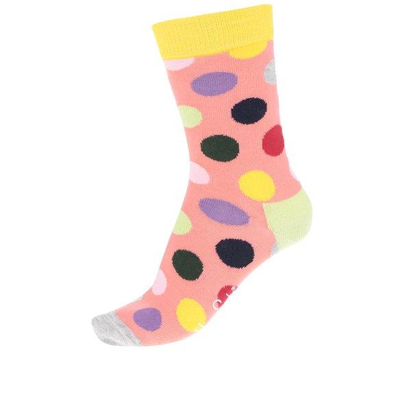 Șosete portocalii Happy Socks Big Dot de la Happy Socks in categoria Dresuri si șosete