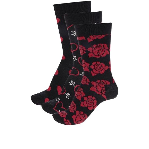 Set 3 perechi șosete Happy Socks Valentine's Gift Box de la Happy Socks in categoria Dresuri si șosete