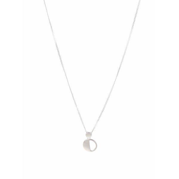Colier argintiu Pieces Mathilde de la Pieces in categoria Ceasuri și bijuterii