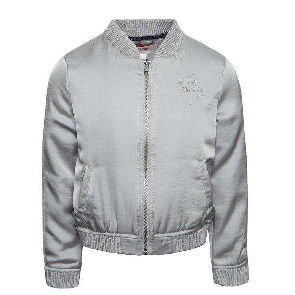 Jachetă bomber gri deschis Boboli pentru fete de la BÓBOLI in categoria Geci, jachete, paltoane