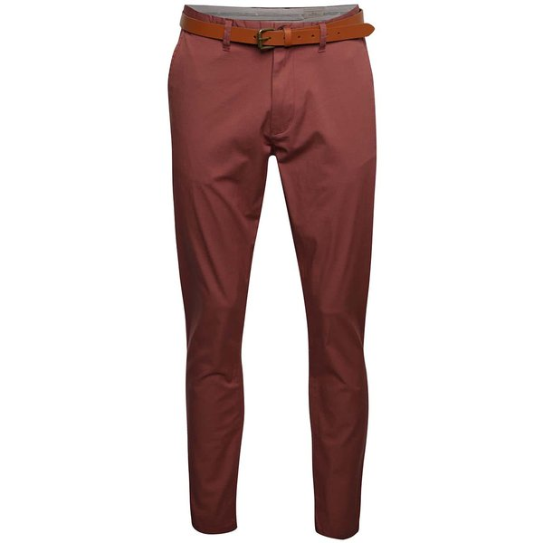 Pantaloni chino caramizii Selected Homme Hyard