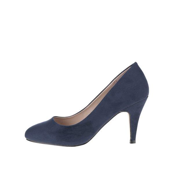 Pantofi albaștri Dorothy Perkins cu toc de la Dorothy Perkins in categoria pantofi cu toc