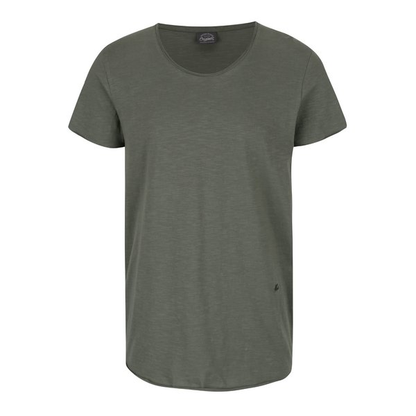 Tricou basic verde Jack & Jones Orbas